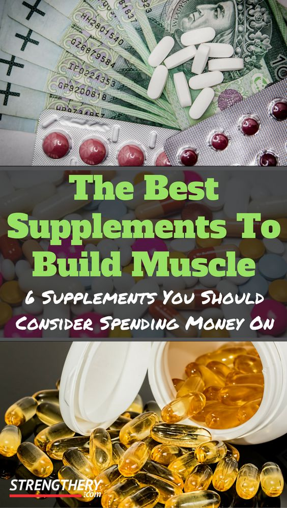 Not all supplements are equally important or worth your money. Discover the 6 best supplements to build muscle that are actually worth buying.