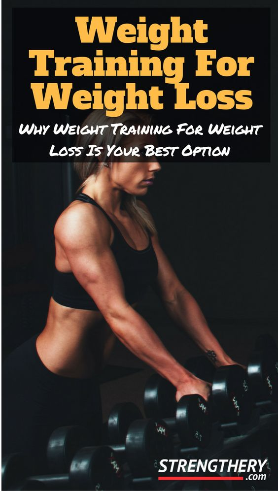 Learn why weight training for weight loss is your best option out of all the different ways to lose weight. Discover why it always should be central in your weight loss efforts!