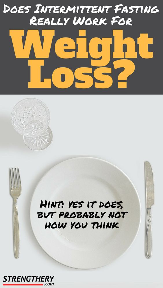 Does intermittent fasting work for weight loss? The short answer is yes, but the reason is not really fasting itself. Read more to find out!