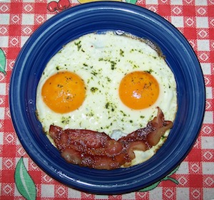 ketogenic diet eggs and bacon