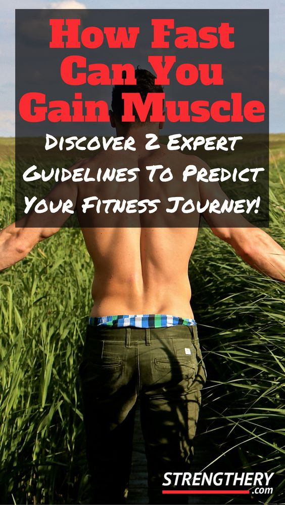 So, You Want To Gain Some Serious Muscle And You Want To Know How Fast Can You Gain Muscle Realistically? No Hype Or Marketing BS. Click To Link To Know More.