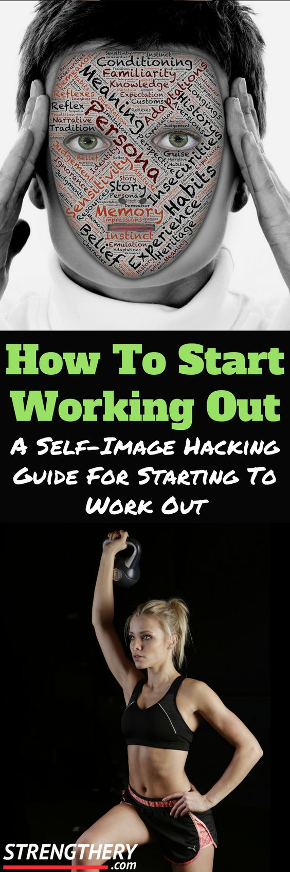 Are you having problems starting working out? Discover the self-image hack that not many fitness professionals mention when teaching how to start working out.
