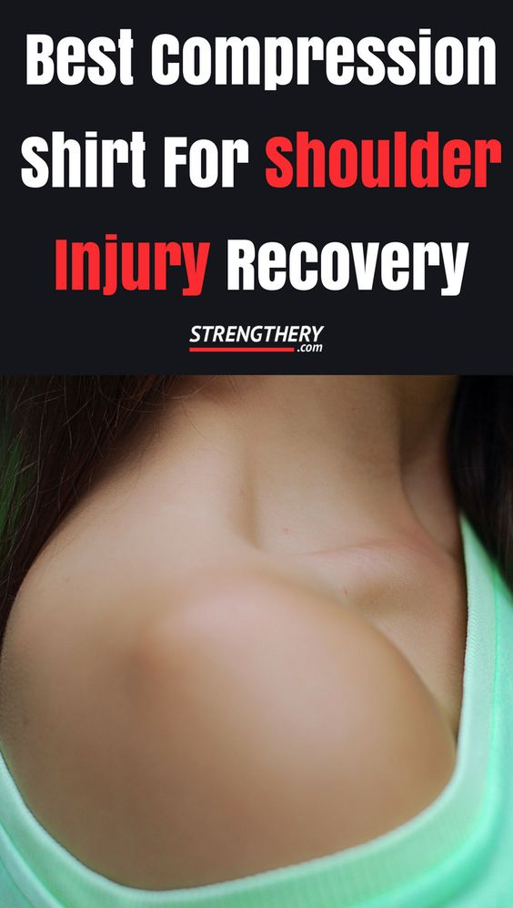 Find out which is the best compression shirt for shoulder injury recovery in this guide. #shoulderinjury #compressionshirt #posturefix