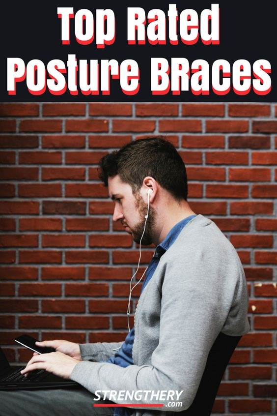 posture braces are a great option to improve posture