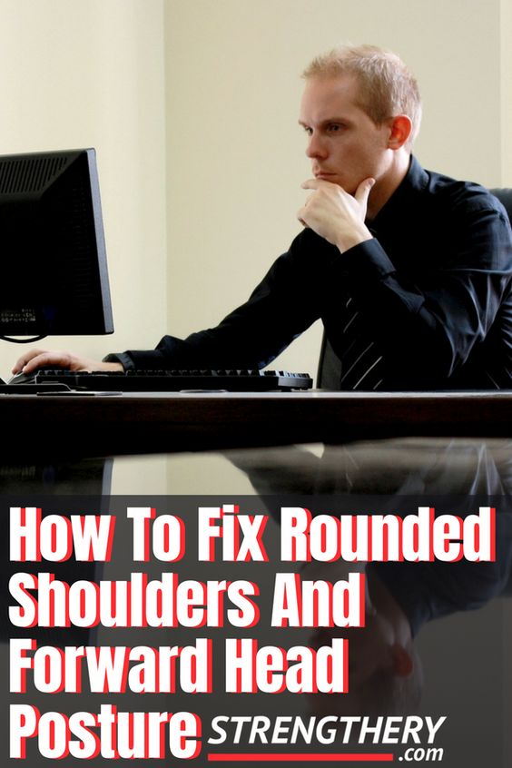 fixing rounded shoulders is not so hard