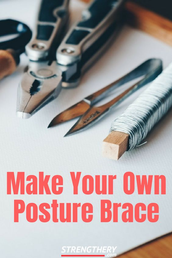 Did you ever wonder how to make your own posture brace at home? Well, wonder no more! Read this short article to learn how to do it.
