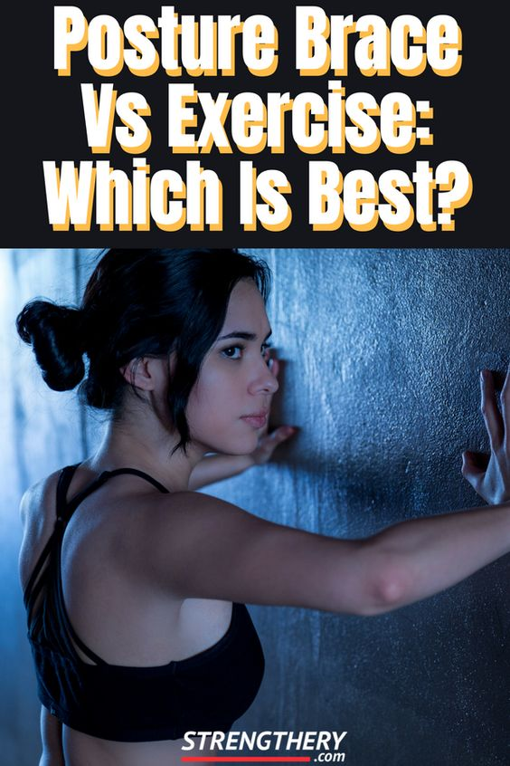 Posture brace vs exercise, which one do you think is best to improve posture? Learn the answer here and more.