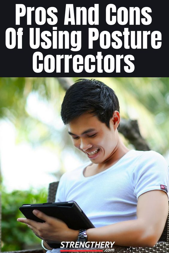 posture correctors and their pros and cons