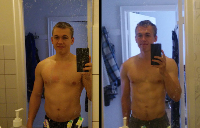 before and after photos clearly showing results