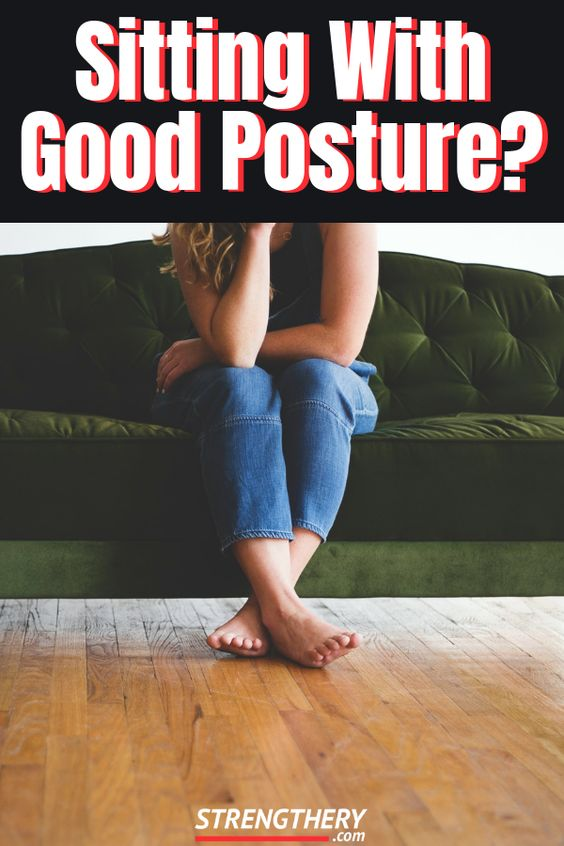 how you can sit with good posture